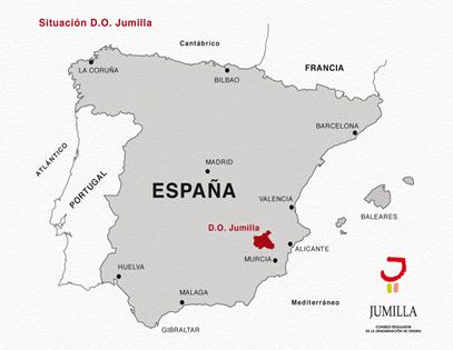 D.O. Jumilla uit de streek van Murcia